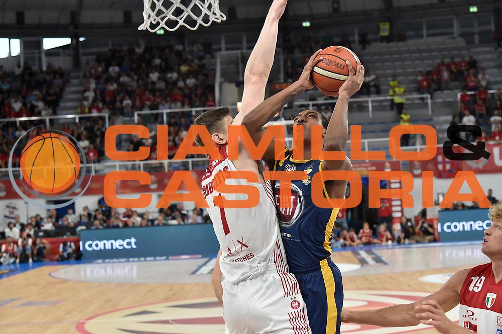 Carr Tony<br /> FIAT Torino - AX Armani Exchange Milano<br /> Zurich Connect Supercoppa 2018 - Finale -<br /> Legabasket Serie A 2018-2019<br /> Brescia 29/09/2018<br /> Foto M.Matta/Ciamillo &amp; Castoria