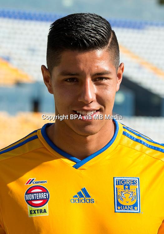 Mexico League - BBVA Bancomer MX 2014-2015 -<br /> Tigres - Club de Futbol Tigres UANL  / Mexico - <br /> Hugo Ayala Castro
