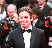Benjamin Biolay at the Foxcatcher gala screening red carpet at the 67th Cannes Film Festival France. Monday 19th May 2014 in Cannes Film Festival, France.