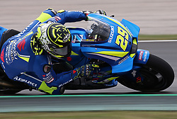May 22, 2018 - Barcelona, Catalonia, Spain - Andrea Iannone (Suzuki) during the Moto GP test in the Barcelona Catalunya Circuit, on 22th May 2018 in Barcelona, Spain. (Credit Image: © Joan Valls/NurPhoto via ZUMA Press)