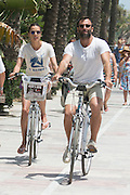 Alessandra Ambrosio and husband in Marbella<br /> ©Exclusivepix Media