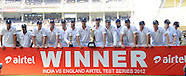 Cricket - India v England 4th Test Day 5 Nagpur