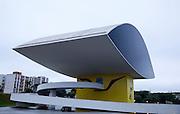 Curitiba_PR, Brasil...Museu do Niemeyer ou Museu do Olho em Curitiba, Parana...Niemeyer Museum or Eye Museum in Curitiba, Parana...Foto: BRUNO MAGALHAES / NITRO