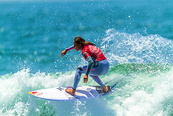 HUNTINGTON BEACH, CA/USA (Thurs, June 25) – Surfer Carissa Moore of Hawaii surfs during during round 3 heat 3 at the 2013 Vans U.S. Open of Surfing. Carissa finished second place with a score of 13.24 points. She now moves on to round 4 heat 3 against surfer Lakey Peterson of USA. PHOTO © Eduardo E. Silva/SILVEXPHOTO.COM.