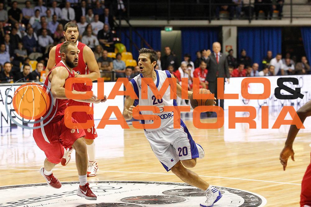 DESCRIZIONE : Desio Eurolega 2011-12 Bennet Cantu Olympiacos<br /> GIOCATORE : Andrea Cinciarini<br /> CATEGORIA : Palleggio<br /> SQUADRA : Bennet Cantu<br /> EVENTO : Eurolega 2011-2012<br /> GARA : Bennet Cantu Olympiacos<br /> DATA : 09/11/2011<br /> SPORT : Pallacanestro <br /> AUTORE : Agenzia Ciamillo-Castoria/G.Cottini<br /> Galleria : Eurolega 2011-2012<br /> Fotonotizia : Desio Eurolega 2011-12 Bennet Cantu Olympiacos<br /> Predefinita :