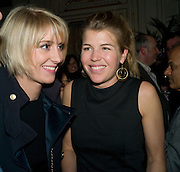 Lady Emily Compton; Amber Nuttall, Tatler Restaurant Awards. Mandarin Oriental Hyde Park. Knightsbridge. London. 19 January 2009<br /> Lady Emily Compton; Amber Nuttall, Tatler Restaurant Awards. Mandarin Oriental Hyde Park. Knightsbridge. London. 19 January 2009 *** Local Caption *** -DO NOT ARCHIVE-© Copyright Photograph by Dafydd Jones. 248 Clapham Rd. London SW9 0PZ. Tel 0207 820 0771. www.dafjones.com.