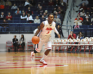"""Ole Miss' Derrick Millinghaus (3) vs. East Tennessee State at the C.M. """"Tad"""" Smith Coliseum in Oxford, Miss. on Saturday, December 14, 2012. Mississippi won 77-55 to improve to 7-1. (AP Photo/Oxford Eagle, Bruce Newman).."""