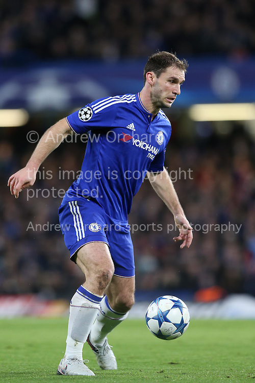 Branislav Ivanovic of Chelsea in action. UEFA Champions league group G match, Chelsea v Porto at Stamford Bridge in London on Wednesday 9th December 2015.<br /> pic by John Patrick Fletcher, Andrew Orchard sports photography.