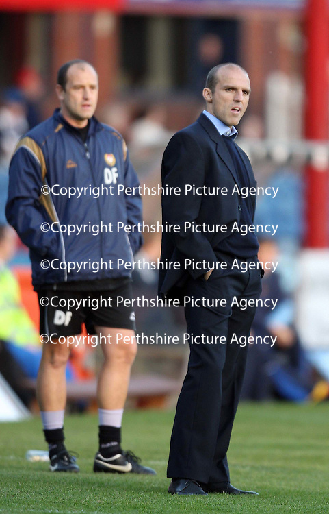 Dundee v St Johnstone....03.11.07<br /> Alex Rae <br /> Picture by Graeme Hart.<br /> Copyright Perthshire Picture Agency<br /> Tel: 01738 623350  Mobile: 07990 594431