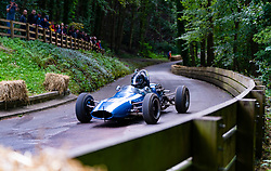 Boness Revival hillclimb motorsport event in Boness, Scotland, UK. The 2019 Bo'ness Revival Classic and Hillclimb, Scotland's first purpose-built motorsport venue, it marked 60 years since double Formula 1 World Champion Jim Clark competed here.  It took place Saturday 31 August and Sunday 1 September 2019. 115. Stephen Cooper. Austin Healey Sprite Mk1
