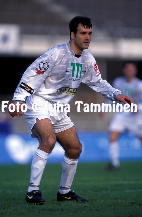 10.05.1998.Veikkausliiga.S?kr? Uzuner - FinnPa.©JUHA TAMMINEN