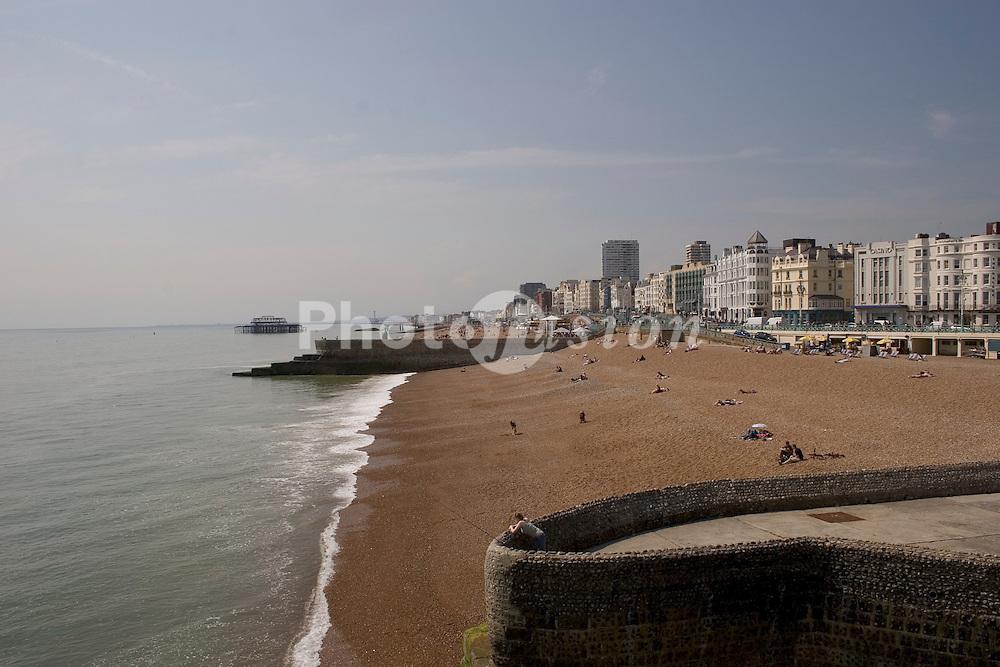 Brighton seafront Sussex UK