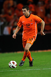 09-02-2011 VOETBAL: NEDERLAND - OOSTENRIJK: EINDHOVEN<br /> Netherlands in a friendly match with Austria won 3-1 / Peter Wisgerhof NED<br /> ©2011-WWW.FOTOHOOGENDOORN.NL