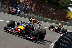 Motorsports / Formula 1: World Championship 2010, GP of Brazil, 05 Sebastian Vettel (GER, Red Bull Racing), 06 Mark Webber (AUS, Red Bull Racing),