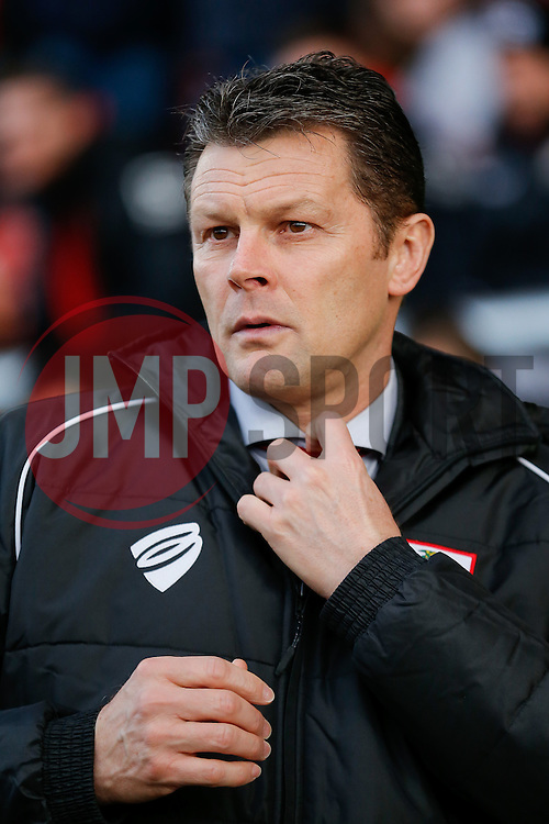 Bristol City Manager Steve Cotterill looks on- Photo mandatory by-line: Rogan Thomson/JMP - 07966 386802 - 20/12/2014 - SPORT - FOOTBALL - Crewe, England - Alexandra Stadium - Crewe Alexandra v Bristol City - Sky Bet League 1.