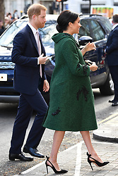 Prince Harry, Duke of Sussex and Meghan Markle, Duchess of Sussex attend an event at Canada House to mark Commonwealth Day in London, UK, on the 11th March 2019. 11 Mar 2019 Pictured: Prince Harry, Duke of Sussex and Meghan Markle, Duchess of Sussex attend an event at Canada House to mark Commonwealth Day in London, UK, on the 11th March 2019. Photo credit: James Whatling / MEGA TheMegaAgency.com +1 888 505 6342