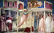 Giotto di Bondone  Santa Croce in Florence,  Ascension of John the Evangelist