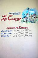 Restaurante Los Caneyes near Cueto, Holguin Province, Cuba.