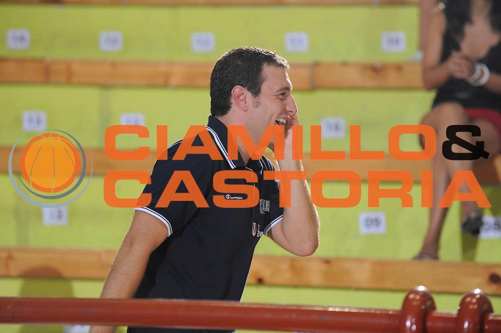 DESCRIZIONE : Porto San Giorgio Eurobasket Men 2009 Additional Qualifying Round Italia Finlandia<br /> GIOCATORE : Francesco D'Aniello<br /> SQUADRA : Italia Italy Nazionale Italiana Maschile<br /> EVENTO : Eurobasket Men 2009 Additional Qualifying Round <br /> GARA : Italia Finlandia Italy Finland<br /> DATA : 20/08/2009 <br /> CATEGORIA :  staff<br /> SPORT : Pallacanestro <br /> AUTORE : Agenzia Ciamillo-Castoria/G.Ciamillo