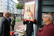 Mannheim. 19.09.17 | SPD-Kanzlerkandidat Martin Schulz im Capitol Mannheim.<br /> Im Wahlkampf zur Bundestagswahl unterstützt Kanzlerkandidat Martin Schulz Mannheims SPD Bundestagsabgeordneter Stefan Rebmann.<br /> <br /> <br /> BILD- ID 2355 |<br /> Bild: Markus Prosswitz 19SEP17 / masterpress (Bild ist honorarpflichtig - No Model Release!)