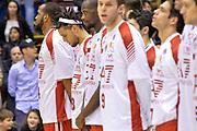 DESCRIZIONE : Milano Lega A 2014-15  EA7 Emporio Armani Milano vs Vagoli Basket Cremona<br /> GIOCATORE : Daniel Hackett<br /> CATEGORIA : PreGame Inno Nazionale <br /> SQUADRA : EA7 Emporio Armani Milano<br /> EVENTO : Campionato Lega A 2014-2015<br /> GARA : EA7 Emporio Armani Milano vs Vagoli Basket Cremona<br /> DATA : 25/01/2015<br /> SPORT : Pallacanestro <br /> AUTORE : Agenzia Ciamillo-Castoria/I.Mancini<br /> Galleria : Lega Basket A 2014-2015  <br /> Fotonotizia : Cantù Lega A 2014-2015 Pallacanestro : EA7 Emporio Armani Milano vs Vagoli Basket Cremona<br /> Predefinita :