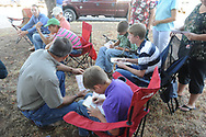 Big 3 Field Days.  Youth livestock judging contest at OSU