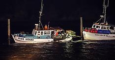 Northland-Chilean earthquake Tsunami rocks boats at Tutukaka Marina