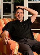 "Luke Wilson stars in the feature film ""Henry Poole is Here.""  Wilson plays a guy who tries to drop out of life only to have neighbors start flocking around his house when they think they see the face of Jesus in the stucco of his house. Photographed at the Four Seasons in Beverly Hills, CA. 8-9-2008. Photo by John McCoy/staff photographer."