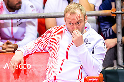 02.02.2018, VAZ, St. Pölten, AUT, Davis Cup, Österreich vs Weissrussland, Europa-Afrika-Zone, 1. Runde, im Bild Trainer Stefan Koubek (AUT) // coach Stefan Koubek of Austria during the Davis Cup - Europe - African zone - 1st Round between Austria and Belarus at the VAZ in St. Pölten, Austria on 2018/02/02. EXPA Pictures © 2018, PhotoCredit: EXPA/ Sebastian Pucher