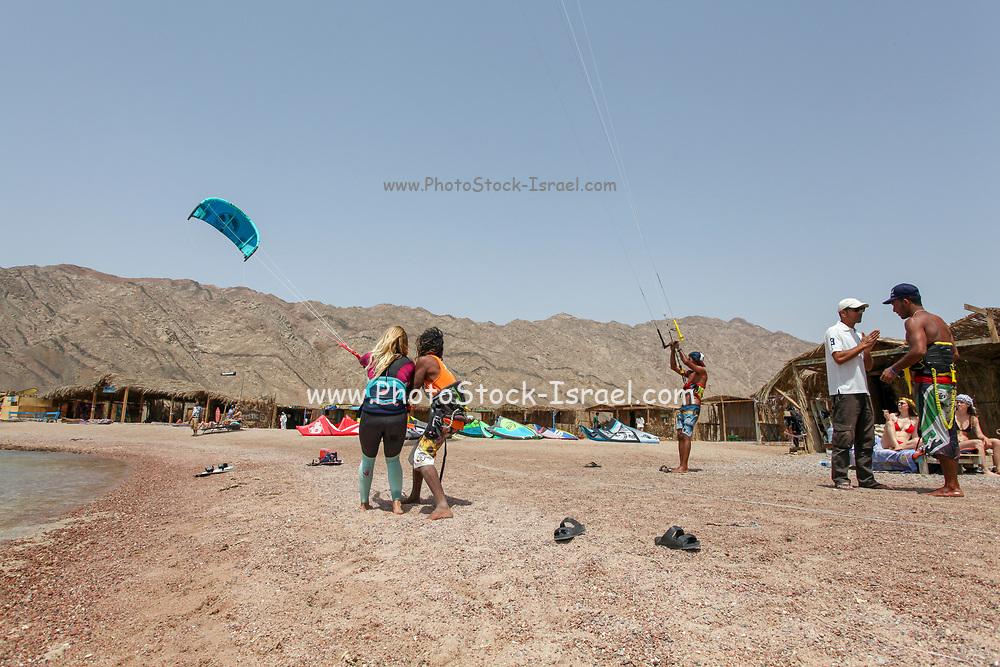 The camping site at the Blue Lagoon resort (Dahab), Sinai, Egypt