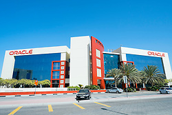 Oracle office building at Dubai Internet City in United Arab Emirates UAE