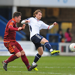 TELFORD COPYRIGHT MIKE SHERIDAN 5/1/2019 - James McQuilkin of AFC Telford during the Vanarama Conference North fixture between AFC Telford United and Spennymoor Town.