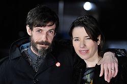 © under license to London News Pictures. Stars of the movie Noah Taylor and Sally Hawkins arrive on the red carpet at the premiere of 'Submarine' held at London's BFI on the Southbank.Photo credit should read THEODORE WOOD/LNP