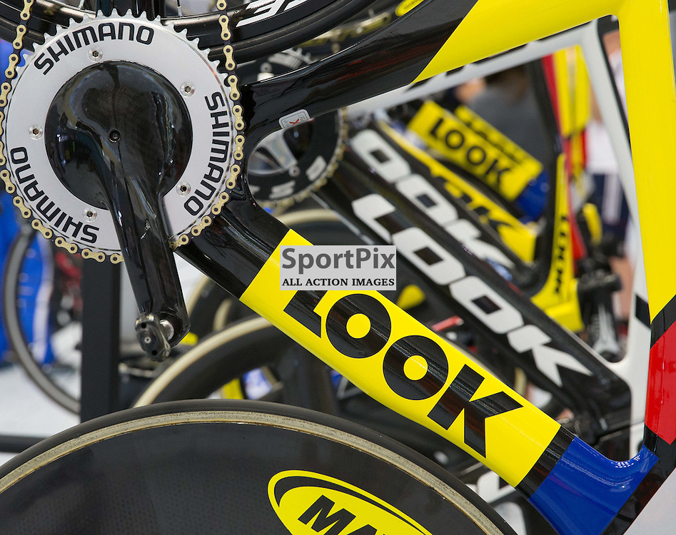 Bikes are ready for use at the Revoultion Series 2015/6 Round 1 Derby, Day 2, on 15 August 2015 ( (Photo by Mike Poole - Photopoole)