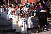MEXICO, SAN MIGUEL ALLENDE Santo Entierro Good Friday Procession