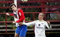 Fotball<br /> 2. divisjon<br /> 18.10.08<br /> Voldsløkka Stadion<br /> Vålerenga VIF 2 - Lyn 2<br /> Helge Neumann - Bard Shala<br /> Foto - Kasper Wikestad
