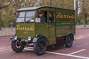 The Harrods van,