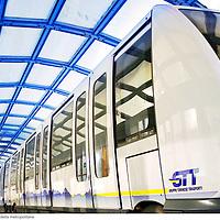 TORINO  la nuova linea 1 della metropolitana .fotografia di  Michele D?Ottavio