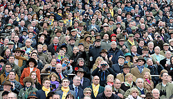 ©London News pictures. 16/03/11. Racegoers attend the 100th Cheltenham Festival in Gloucestershire,  today (wed 16/03/11). Picture Credit should read Stephen Simpson/LNP
