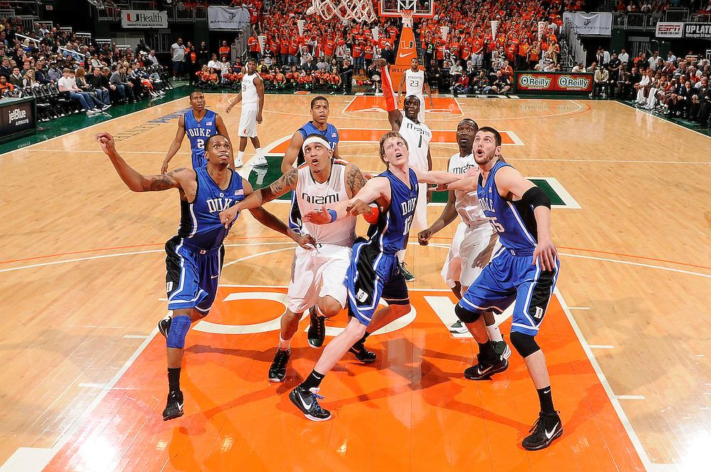 2010 Miami Hurricanes Men's Basketball vs Duke