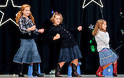 "10/23/09  -  Atlanta, Ga :  Students at Sagamore Hills Elementary School including the ""Hoedown Throwdown"" group of Olivia Rotolo, Michaela Cook, Kate Crabtree, Claire McMonagle and Natalie Rotolo, perform their skits during the 2009 talent show featuring dance, music, comedy and other performances for the annual Showcase of Stars on Friday, October 23, 2009. Director Nancy Briggs, and assistant directors Joe Scivicque and Teresa Libbey helped produce more than 30 acts.    David Tulis         dtulis@gmail.com    ©David Tulis 2009"