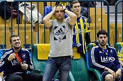 Branko Tamse, head coach of RK Celje PL during handball match between RK Celje Pivovarna Lasko and RK Gorenje Velenje in Eighth Final Round of Slovenian Cup 2015/16, on December 10, 2015 in Arena Zlatorog, Celje, Slovenia. Photo by Vid Ponikvar / Sportida