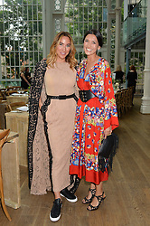 Left to right, ALEXANDRA MEYERS and HIKARI YOKOYAMA at The Women for Women International & De Beers Summer Evening held at The Royal Opera House, Covent Garden, London on 23rd June 2014.