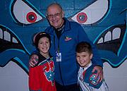 KELOWNA, CANADA - NOVEMBER 29:  Winners at the Kelowna Rockets game on November 29, 2017 at Prospera Place in Kelowna, British Columbia, Canada.  (Photo By Cindy Rogers/Nyasa Photography,  *** Local Caption ***