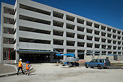 The Milpitas BART Station's new parking garage will house 1,200 parking spots near the Great Mall of the Bay Area in Milpitas, California, on September 2, 2016. An additional outdoor ground lot will host another 400 parking spots nearby. (Stan Olszewski/SOSKIphoto)