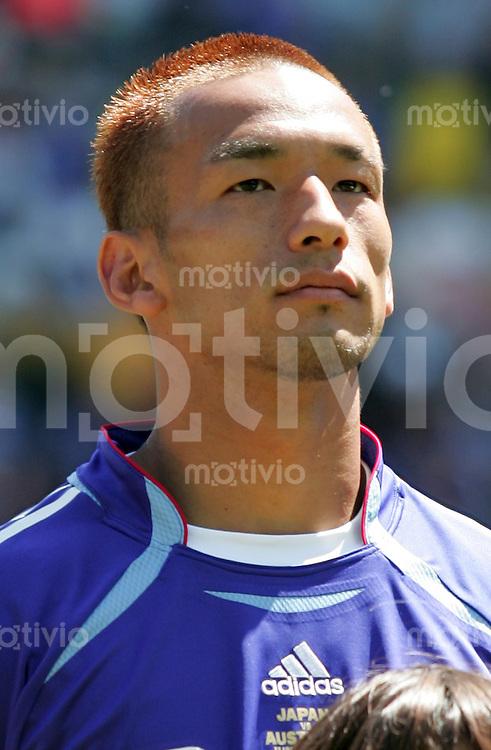 Fussball  International WM2006  Vorrunde Australien-Japan Hidetoshi Nakata (JPN)