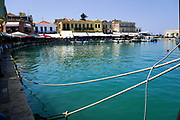 Venetian era harbour, Chania, Crete, Greece
