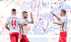 28.05.2017, Red Bull Arena, Salzburg, AUT, 1. FBL, FC Red Bull Salzburg vs Cashpoint SCR Altach, 36. Runde, im Bild Jubel Salzburg, Igor (FC Red Bull Salzburg), Valon Berisha (FC Red Bull Salzburg), Josip Radosevic (FC Red Bull Salzburg) // during Austrian Football Bundesliga 36th round Match between FC Red Bull Salzburg and Cashpoint SCR Altach at the Red Bull Arena, Salzburg, Austria on 2017/05/28. EXPA Pictures © 2017, PhotoCredit: EXPA/ JFK