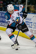 KELOWNA, CANADA - APRIL 07:  Rodney Southam #17 of the Kelowna Rockets at the Kelowna Rockets game on April 07, 2017 at Prospera Place in Kelowna, British Columbia, Canada.  (Photo By Cindy Rogers/Nyasa Photography,  *** Local Caption ***