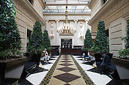 Argentina. Buenos Aires. Hotel SOFITEL Art deco palace building - built by Mr Mihanovitch - in Retiro area , 841arroyo street  / hotel SOFITEL architecture ART DECO , dans la tour Mihanovitch rue arroyo  841 quartier de Retiro  Buenos Aires - Argentine  R031